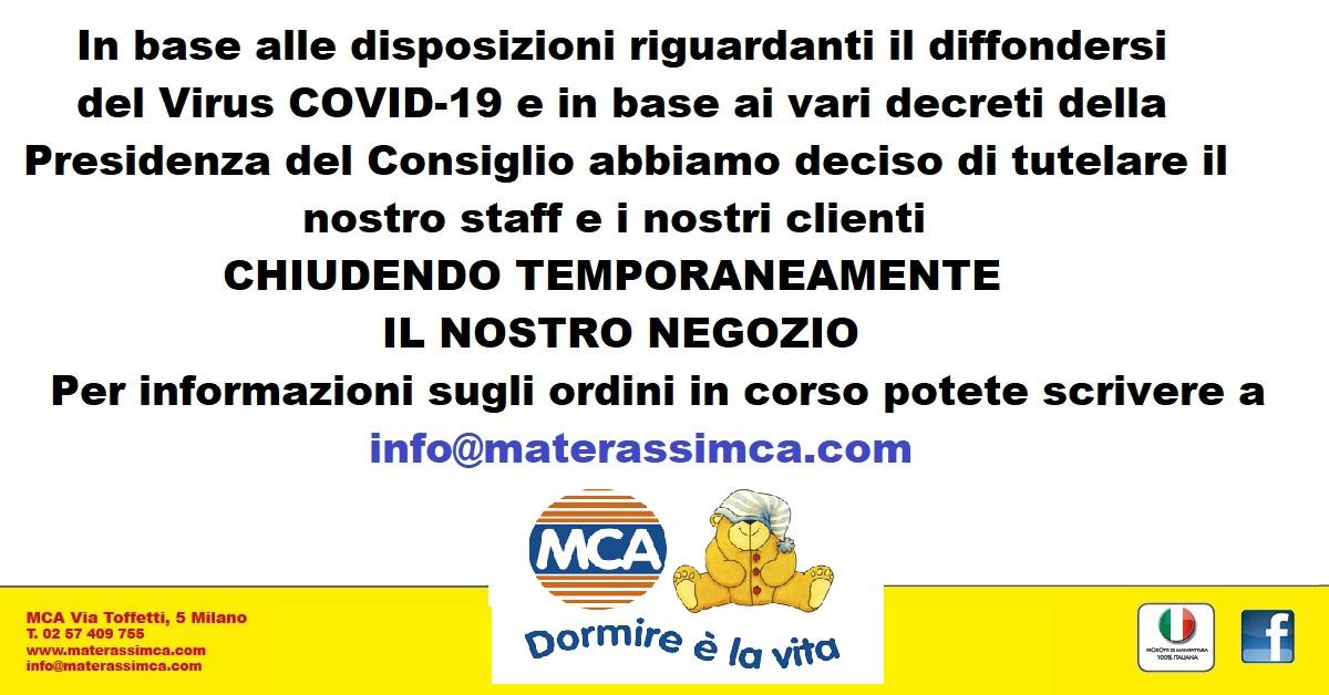 Mca Materassi Milano.Materassi Mca Milano